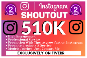 Get shoutout on 500k instagram followers page,influencers on instagram,instagram influencers having more than 500k page