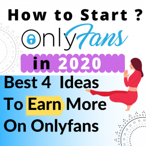how to start an onlyfans account