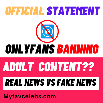Onlyfans official statement for adult content creators