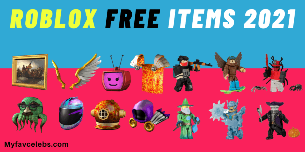 free items for Roblox avatar