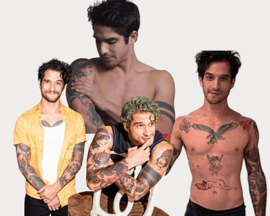 Teen Wolf Tyler Posey tattoos Images